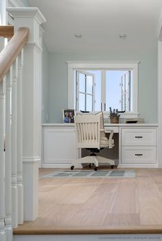 Hardwood Flooring Light White Oak hardwood flooring Provenza Floors Old World Aged Alabaster hardwood flooring Light Hardwood Floors, Shaker Style Doors, House Of Turquoise, Affordable Home Decor, Home Office Decor, Office Ideas, Cozy House, Living Spaces, Work Spaces