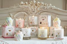 #candles #valentines Perfect to have around the home this valentines, wouldn't you say? £8.99 handmade in the UK 30hrs burn available in Raspberries&roses, Lemon Bonbon, Strawberry Cupcake, Sugared Violet & Cherry Tartlette. www.charlottesboutiquegifts.co.uk