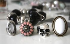 every girl needs a skull in her jewelry collection.