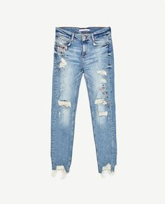 Image 8 of MID-RISE SLIM FIT JEANS from Zara Zara Jeans a903adda9468