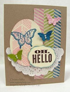 Oh, Hello Stampin' Up!