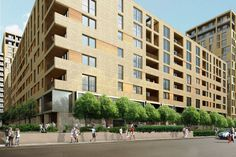 Indescon Court, a two-acre site in Isle of Dogs, south east London by Hamiltons Architects
