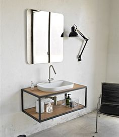 Car Furniture, Steel Furniture, Bathroom Furniture, Bathroom Design Luxury, Modern Bathroom, Small Bathroom, Bathroom Sink Units, Bathroom Fixtures, Small Toilet Room
