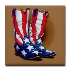 55aacc04d7e8 if i could find real american flag cowboy boots
