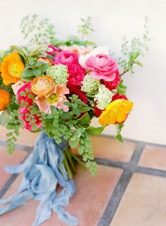 Courthouse Elopement Inspiration Packed With Color