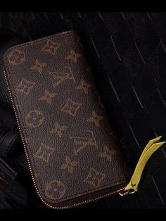 size 40 9a903 05f39 Louis Vuitton Monogram Canvas Clemence Wallet Mimosa M60744 sale at USD  135. Free Shipping by