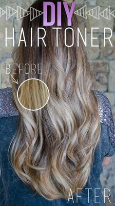 Tone your hair and make it shine for nearly nothing!