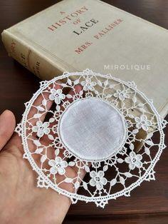 Crochet Wool, Irish Crochet, Crochet Crafts, Needle Lace, Bobbin Lace, Lacemaking, Point Lace, Lace Doilies, Irish Lace
