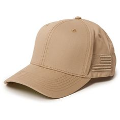 Khaki Dad Hat (78 BRL) ❤ liked on Polyvore featuring accessories, hats and khaki hat