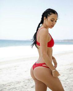 No description #sexy #women #womancrush #swimwear #red #model