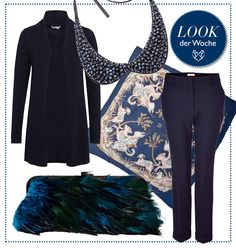 #Blue & #Green #Look by Brigitte von Boch #bevonboch
