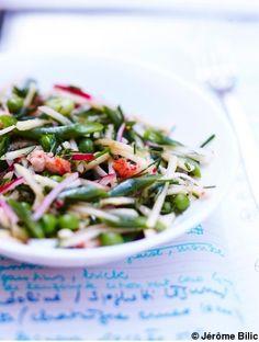 Salade de pommes et légumes pour 6 personnes - Recettes Elle à Table - Elle à Table