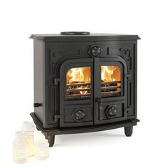 Broseley Hercules 30 Multi-fuel Boiler Stove | 8kW + 22kW Boiler Stoves, Multi Fuel Stove, Hercules, Home Appliances, Wood, Classic, House Appliances, Derby, Stoves
