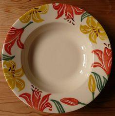 Emma Bridgewater Orange & Yellow Lilies Soup Plate