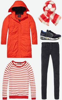 Red colours | Maison Scotch, Premiata | www.eb-vloed.nl