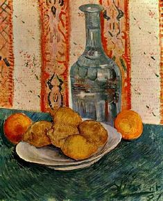 Vincent van Gogh: The Paintings (Still Life with Decanter and Lemons on a Plate)