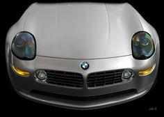 BMW Z8 in black & silver (Originalfarbe)