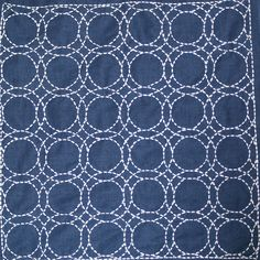 Sashiko a´la Diddi by Diddis, via Flickr