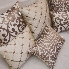 European embroidery cushions luxury decorative throw pillows without inner sofa . European embroidery cushions luxury decorative throw pillows without inner sofa home decor funda cojines decorativos Sewing Pillows Decorative, Diy Pillows, Cushions On Sofa, Decorative Pillow Covers, Beige Cushions, Living Room Decor Pillows, Velvet Cushions, Sofa Bed, Decorative Items