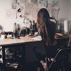 alone-art-beautiful-girl-Favim.com-3383979.jpg (610×610)
