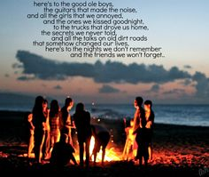 """Friends We Won't Forget"" -Lee Brice"