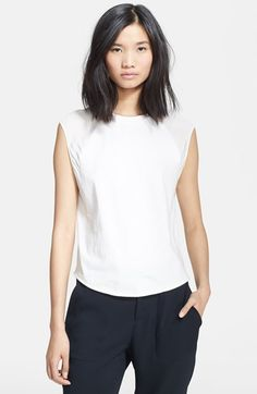 3.1 Phillip Lim Baseball Tank with Contrast Shoulders available at #Nordstrom