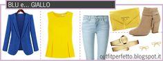 Outfit Perfetto: Come abbinare i colori: il BLU