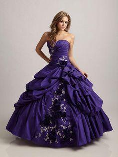 vestidos de quinceañeras bordado de rosas