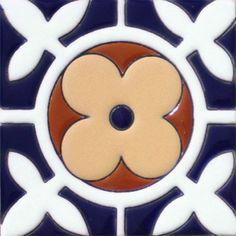 Prima Mexican Tile - Cuarteles – Mexican Tile Designs