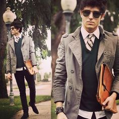He is one of my fav. Men's fashion bloggers <3 as you can see why!