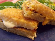 Grilled Cheese Sandwich with Sun-Dried Tomato Spread
