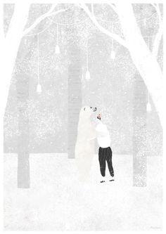 Waiting in Vain by Akira Kusaka, via Behance