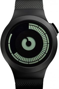 New #Watches on Timefy : Saturn Black by Ziiiro
