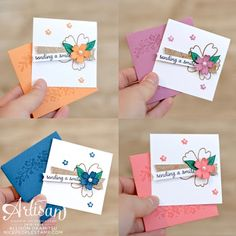 nice people STAMP!: NEW In Color Love Notes: Stampin' Up! Artisan Blog Hop