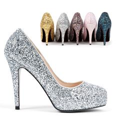 Every girl needs one pair of sparkly shoes, right?