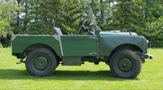 121 - 1951 Land Rover Series 1 80 inch. Now fitted with the 2.25 petrol engine Estimate: £6,500 - £8,000