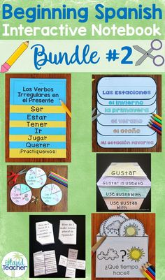 81 Best Spanish Interactive Notebooks images | Spanish