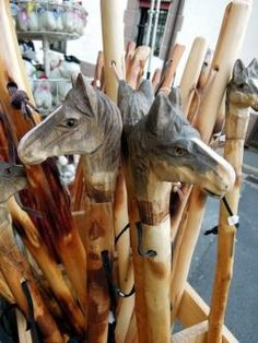 A variety of walking sticks are available along The Way, and they make lovely souvenirs as well as walking aids. Click to read more about what to bring on your Camino and how to choose your walking stick.