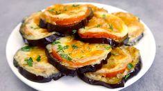 Ich brate keine Auberginen mehr! Köstliche Auberginen-Vorspeise im Ofen # 120 - YouTube Kitchen Recipes, Raw Food Recipes, Italian Recipes, Appetizer Recipes, Appetizers, Cooking Recipes, Vegetarian Recipes, Eggplant Dishes, Eggplant Recipes