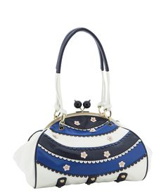 Spencer and Rutherford - Handbags - Frame Shoulder Bag - Liesl - Starry Night