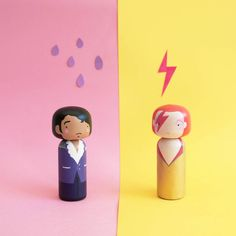 Pop Icons Turned Into Nice Kokeshi Dolls