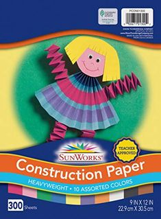 Option for Construction Paper; week 4