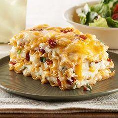 "Easy ""Pierogi"" Casserole Recipe from our friends at Philadelphia Cream Cheese"