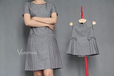 Sewing Baby Dress Summer 44 Ideas For 2019 Mother Daughter Matching Outfits, Mother Daughter Fashion, Matching Family Outfits, Mother Daughters, Mom And Baby Dresses, Little Girl Dresses, Sewing Clothes Women, Frocks For Girls, Kids Outfits