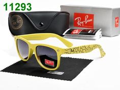 Ray Ban Justin RB4165 Pattern Frame Gradient Lens Sunglasses Yellow