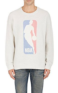 00324ff668c2 NBA Logo Cashmere-Blend Sweatshirt by The Elder Statesman exclusively at  Barney s New York Mens