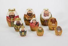 Nesting Nativity (9-Piece Set)