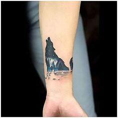 #TattooSymbols #TattooIdeogram Amazing Small Wolf on Wrist Tattoo Idea, click for info.