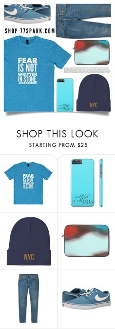 """""""What a man!"""" by samra-bv ❤ liked on Polyvore featuring Levi's, NIKE, men's fashion and menswear"""