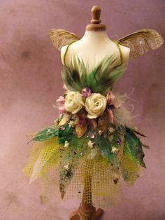 Image result for fake flower fairy dress